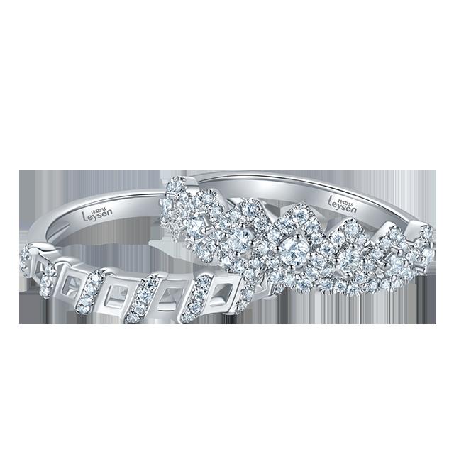 Leysen莱绅通灵传奇王冠戒指 款号:RHH11803NW